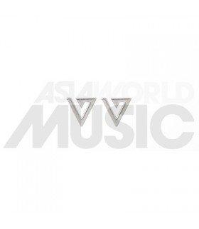 SEVENTEEN - Boucles d'oreilles Respect (Silver)
