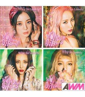 Wonder Girls (원더걸스) Single Album - Why So Lonely (édition limitée coréenne)