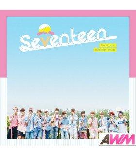 SEVENTEEN (세븐틴) Vol. 1 - LOVE & LETTER (Repackage Album) (édition normale coréenne)