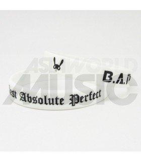 B.A.P - Bracelet Gravé - Best Absolute Perfect (BLACK / WHITE)