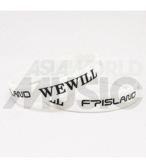 FTIsland - Bracelet Gravé - WE WILL (BLACK / WHITE)
