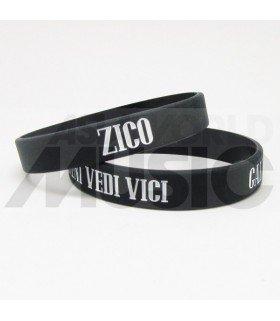 ZICO - Bracelet Gravé - GALLERY (VENI VEDI VICI) (WHITE / BLACK)