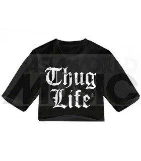 Crop top THUG LIFE (Black) (FAREAST)