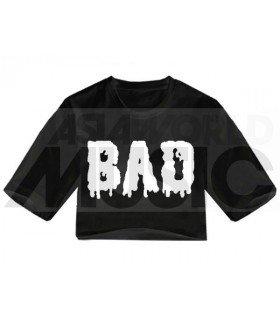 Crop top BAD (Black) (FAREAST)