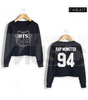 BTS - Crop top à manches longues - BANGTAN BOYS - RAP MONSTER 94