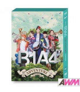 B1A4 (비원에이포)  2015 B1A4 ADVENTURE DVD (2DVD + PHOTOBOOK) (édition coréenne)