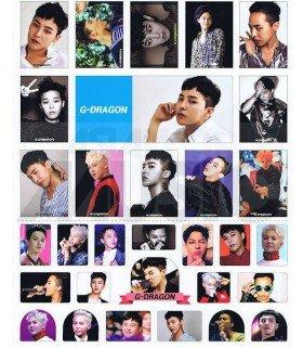 Sticker BIGBANG (G-DRAGON) 009