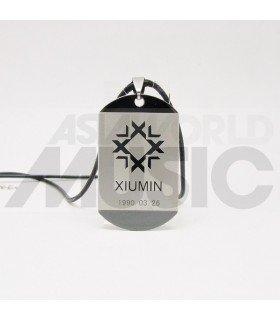 EXO - Collier Plaque ID - EXO Symbol XIUMIN