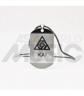 EXO - Collier Plaque ID - EXO Symbol KAI
