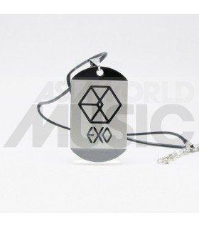 EXO - Collier Plaque ID - EXO Symbol EXODUS