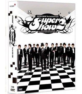 Super Junior - The 2nd Asia Tour: Super Show 2 (DVD + Photobook + Poster) (2DVD) (édition coréenne)