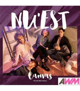 NU'EST (뉴이스트) Mini Album Vol. 5 - Canvas (édition coréenne)