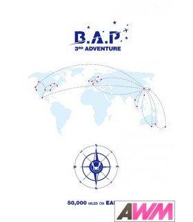 B.A.P (비에이피) 3rd Adventure 50,000 Miles on Earth (DVD+P¨HOTOBOOK) (édition coréenne)