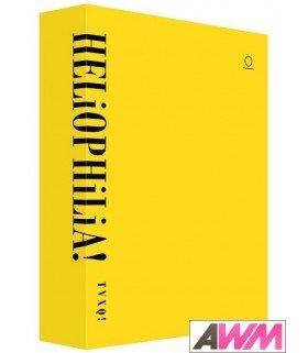Dong Bang Shin Ki (동방신기) TVXQ! - HELiOPHiLiA! (PHOTOBOOK + DVD) (édition coréenne)