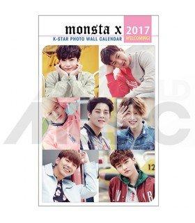 Monsta X - Calendrier Mural 2017 K-STAR
