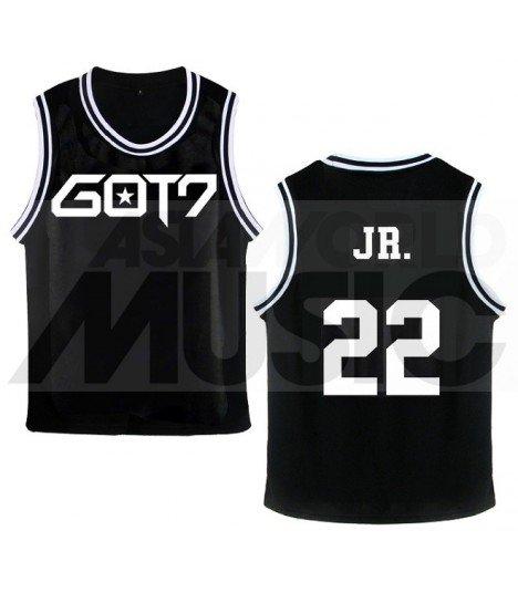 GOT7 - Maillot de basketball GOT7 - JR. 22 (BLACK)