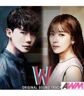 W (MBC 수목드라마) Original Soundtrack (2CD) (édition coréenne)