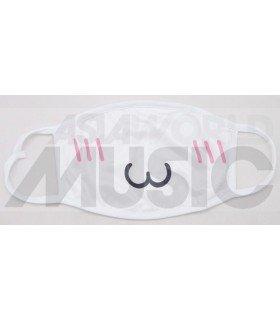 Masque KAWAII CAT - SHY (White)
