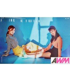 Affiche officielle Apink - Pink Revolution (Poster A / EUNJI & BOMI)