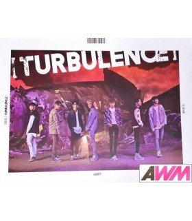 Affiche officielle GOT7 - TURBULENCE (Poster A)