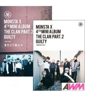 Monsta X (몬스타엑스) Mini Album Vol. 4 - The Clan 2.5 Part.2 GUILTY (GUILTY / INNOCENT Version) (édition coréenne)
