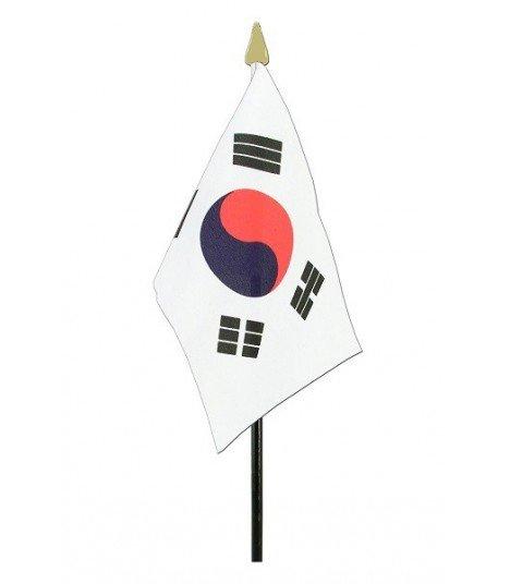 Mini Drapeau de la Corée du Sud (15 x 10 cm)