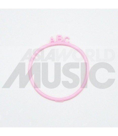 Elastique cheveux ABC - Pink