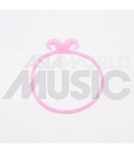Elastique cheveux Moustache - Soft Pink