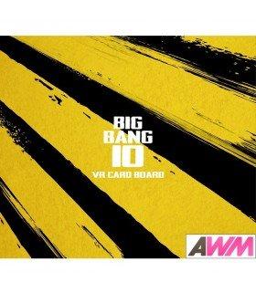 BIGBANG (빅뱅) BIGBANG10 THE EXHIBITION: A TO Z X VR Card Board (édition limitée coréenne)