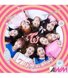 TWICE (트와이스) Mini Album Vol. 3 - TWICEcoaster: LANE 1 (Version Apricot / Neon magenta) (édition coréenne) (Poster offert*)