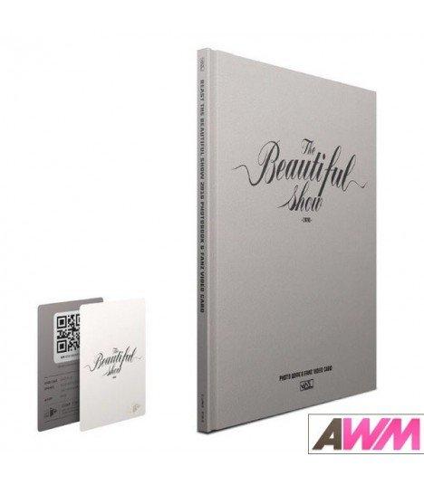 BEAST (비스트) The Beautiful Show 2016 Concert Photobook & Fanz Video Card (édition coréenne)