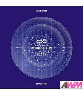 Infinite (인피니트) INFINITE Effect Advance Live (2DVD + 2CD + PHOTOBOOK) (édition coréenne)