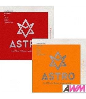 ASTRO (아스트로) Mini Album Vol. 3 - Autumn Story (Version A - RED / B - ORANGE) (édition coréenne)