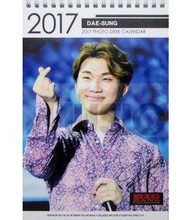 Daesung (BIGBANG) - Calendrier de Bureau 2017 / 2018 (Type A)