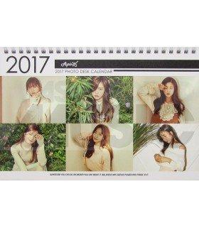 Apink - Calendrier de Bureau 2017 / 2018 (Type B)