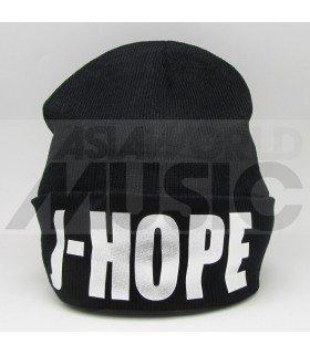 BTS - Bonnet noir - J-HOPE (Silver)