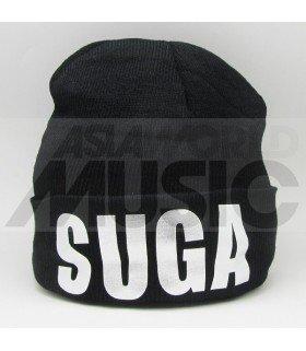 BTS - Bonnet noir - SUGA (Silver)