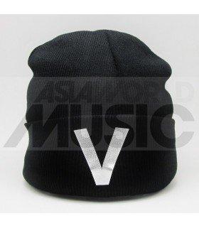BTS - Bonnet noir - V (Silver)