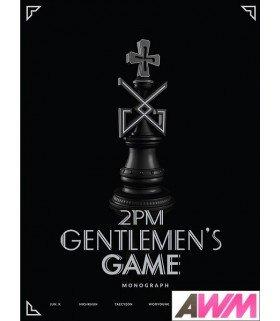 2PM (투피엠) GENTLEMEN'S GAME MONOGRAPH (DVD + PHOTOBOOK) (édition limitée coréenne)