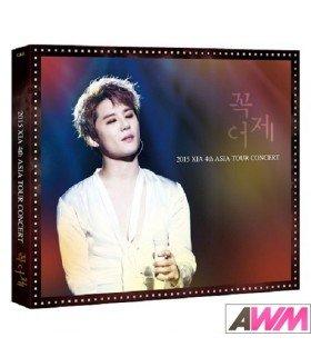 XIA (준수) 2015 XIA 4th Asia Tour Concert - Yesterday in Yokohama (3DVD) (édition limitée coréenne)