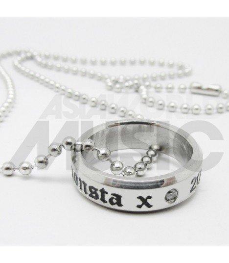 Monsta X  - Collier Bague Monsta X 2015.05.14 (Double collier)