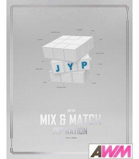 JYP Nation (JYP 네이션) Photobook JYP Nation Korea 2016 Mix & Match (édition coréenne)