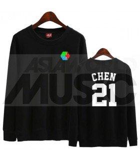EXO - Sweat EXO-CBX - CHEN 21 (Black / Coupe unisexe)