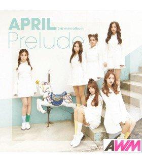 APRIL (에이프릴) Mini Album Vol. 3 - Prelude (édition coréenne)