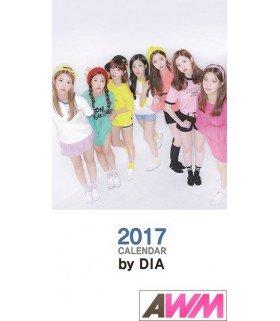 DIA (다이아 ) Calendrier Officiel 2017 (édition coréenne)