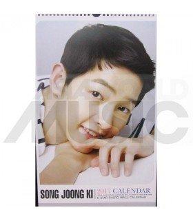Song Joong Ki - Calendrier Mural 2017 K-STAR (Type B)