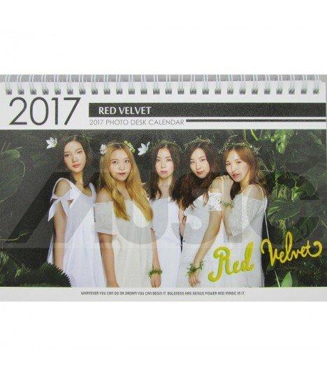 Red Velvet - Calendrier de Bureau 2017 / 2018 (Type A)