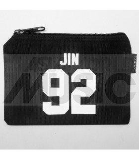 BTS - Pochette porte-monnaie zippée - JIN 92
