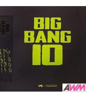 BIGBANG (빅뱅) BIGBANG10 THE VINYL LP (édition limitée coréenne)