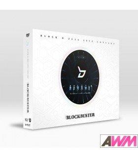 Block B (블락비) 2016 Live Concert Blockbuster (2DVD + PHOTOBOOK) (édition coréenne)